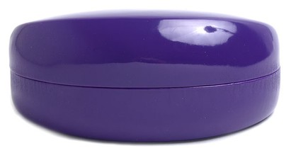 Angle of Colorful Reading Glasses Case in Purple, Women's and Men's  Hard Cases