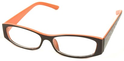 Angle of The Gracie in Brown/Orange, Women's and Men's