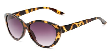 1be3dcee9c Angle of The Mary Reading Sunglasses in Yellow Tortoise with Smoke