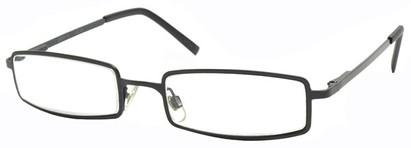 Angle of The Henderson in Black Frame, Women's and Men's