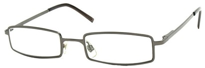 Angle of The Henderson in Grey Frame, Women's and Men's