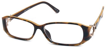 Angle of The Monaco in Yellow Tortoise, Women's and Men's