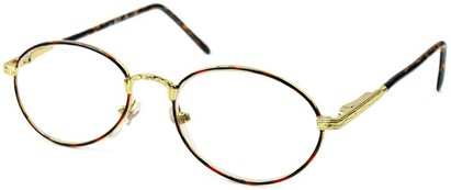 Angle of The Stockholm in Dark Tortoise and Gold, Women's and Men's