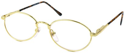 Angle of The Stockholm in Gold and Tortoise, Women's and Men's
