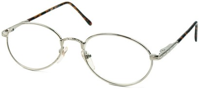 Angle of The Stockholm in Silver and Dark Tortoise, Women's and Men's