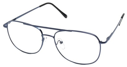 Angle of The Wallace in Blue Frame, Women's and Men's