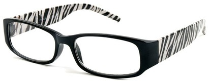 Angle of The Malanie in Black Zebra, Women's and Men's