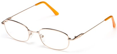 Angle of Arch by felix + iris in Gold, Women's and Men's Oval Reading Glasses