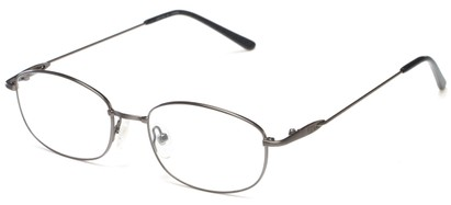 Angle of Arch by felix + iris in Silver, Women's and Men's Oval Reading Glasses
