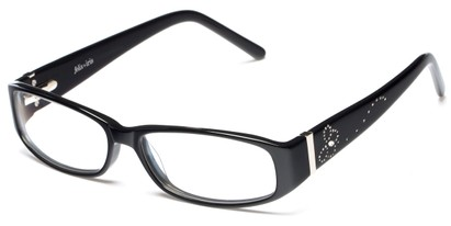 Angle of Arden by felix + iris in Black, Women's Rectangle Reading Glasses