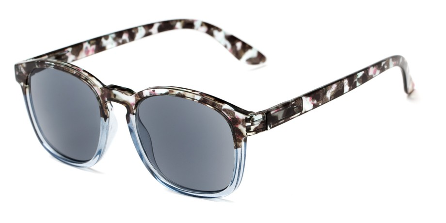 c5fcf03660a Trendy Two-Tone Retro Square Sun Readers ®