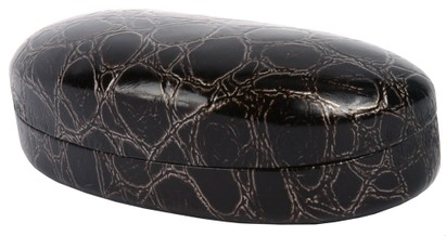 LaLarge Faux Crocodile Glasses Case
