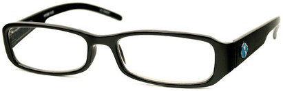 Angle of The Cedar Recycled Reader in Black, Women's and Men's