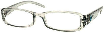 Angle of The Cedar Recycled Reader in Grey, Women's and Men's