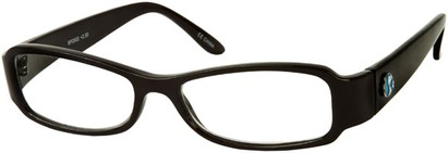 Angle of The Bradford Recycled Reader in Black, Women's and Men's