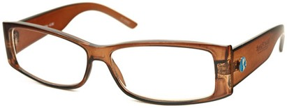 Angle of The Oak Recycled Reader in Brown, Women's and Men's