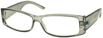Angle of The Oak Recycled Reader in Grey, Women's and Men's