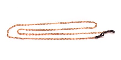 Angle of Baltimore Reading Glasses Chain in Copper, Women's and Men's  Neck Chains