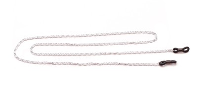 Angle of Baltimore Reading Glasses Chain in Silver, Women's and Men's  Neck Chains