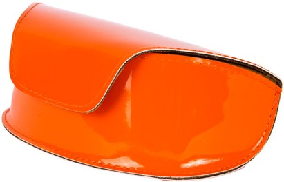 Angle of Large Patent Case  in Orange, Women's and Men's