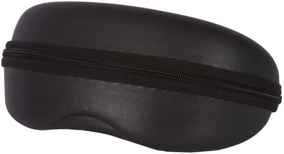 Black Zip Shut Glasses Case