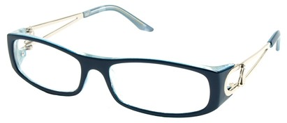 Angle of The Dinah in Blue Frame, Women's and Men's