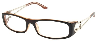 Angle of The Dinah in Brown Frame, Women's and Men's