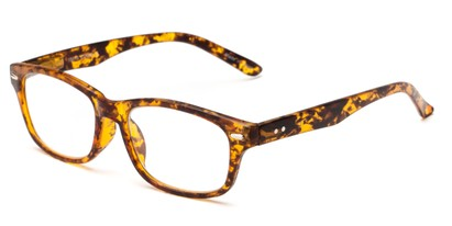 Angle of The Comet in Tortoise, Women's and Men's Rectangle Reading Glasses
