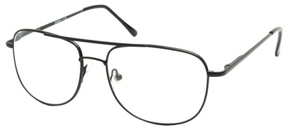 Angle of The Wallace in Black Frame, Women's and Men's