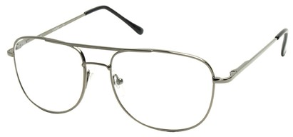 Angle of The Wallace in Silver Frame, Women's and Men's