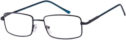 Angle of The Detective in Blue, Women's and Men's Square Reading Glasses