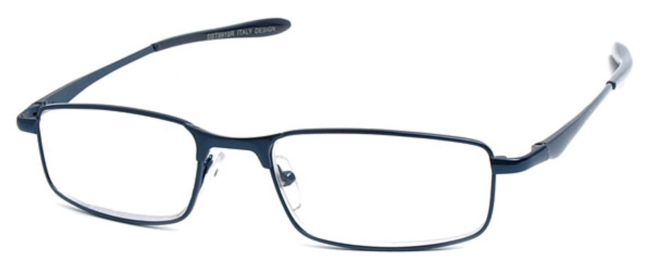 Wire Frame Reading Glasses with Straight Temples