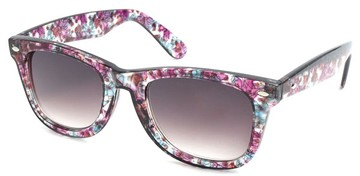 Floral Print Reading Sunglasses | Flower Print Wayfarer :  floral flowers reading glasses women