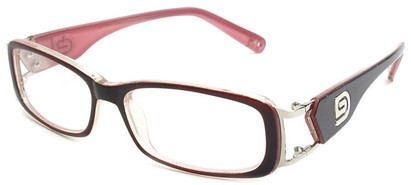 Angle of The Devin in Red and Pink Frame, Women's and Men's