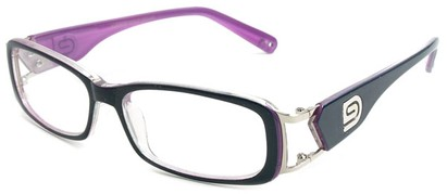 Angle of The Devin in Blue and Purple Frame, Women's and Men's