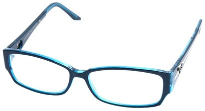 Angle of The Tiffany in Blue Frame, Women's and Men's