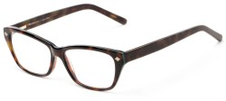 Angle of The Galena Signature Reader in Tortoise/Blue, Women's Cat Eye Reading Glasses
