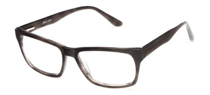 Angle of Glen by felix + iris in Smoke Grey, Men's Retro Square Reading Glasses