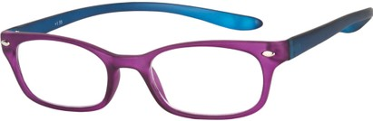 Angle of The Buckingham  in Matte Purple/Blue, Women's and Men's
