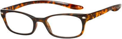 Angle of The Buckingham  in Glossy Tortoise, Women's and Men's
