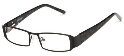 Angle of Honey Creek by felix + iris in Black, Women's Rectangle Reading Glasses