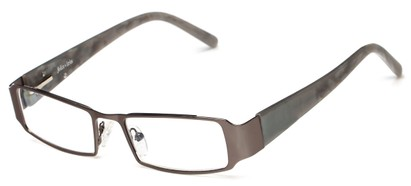 Angle of Honey Creek by felix + iris in Gunmetal Grey, Women's Rectangle Reading Glasses
