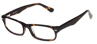 Angle of The Irvington Customizable Reader in Tortoise, Women's and Men's Rectangle Reading Glasses