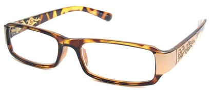 Angle of The Flame in Tortoise and Gold Frame, Women's and Men's
