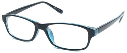 Angle of The Monroe in Blue Frame, Women's and Men's