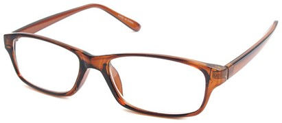 Angle of The Monroe in Brown Frame, Women's and Men's