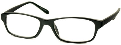 Angle of The Monroe in Black Frame, Women's and Men's