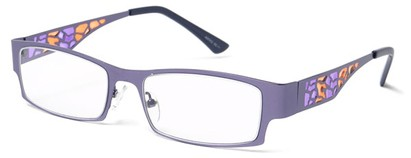 Angle of The Carla in Purple, Women's and Men's