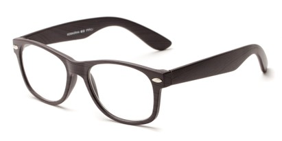 Angle of The Journey in Dark Brown, Women's and Men's Retro Square Reading Glasses