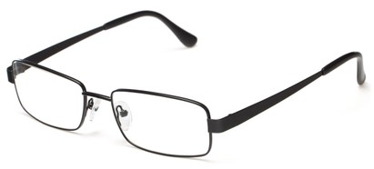 Angle of Lewis by felix + iris in Black, Men's Rectangle Reading Glasses